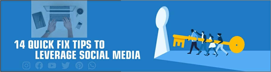 How can you leverage your social media ??? How to grow on social media??? Few quick tips to go a better way in social media marketing