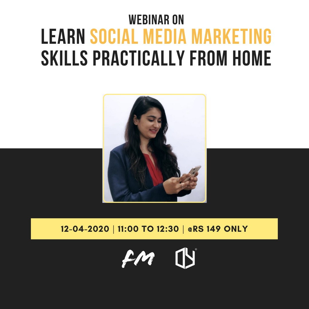 Learn social media marketing skills practically from home